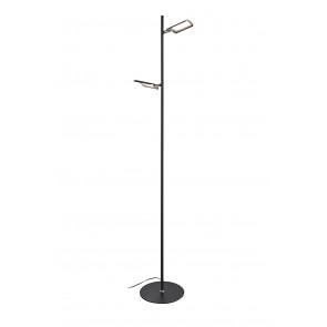 Robin, LED, 2-flammig, dimmbar, schwarz