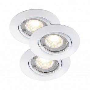 Nordlux Triton LED COB, weiß