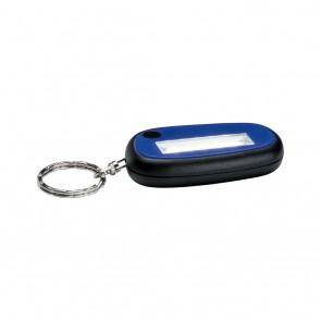 Function Mini Key Flashlight Blau Kunststoff