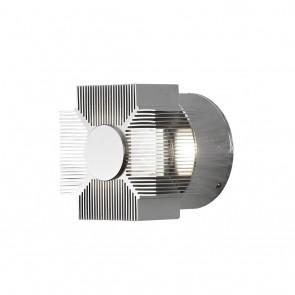 Monza Wandleuchte, Effekt, 9 x 9cm, Alu