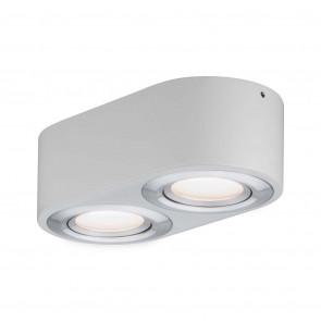 Argun, LED, 2-flammig, dimmbar, schwenkbar, metallisch