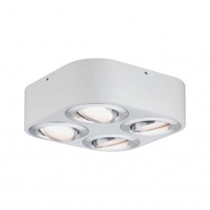 Argun LED, 4 x 4,8W, weiß, Aluminium gebürstet