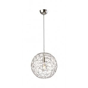 Cage, Ø 45 cm, Metall/ Satin