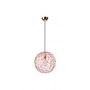 Cage, Ø 35 cm, Metall/ Kupfer