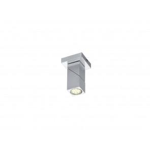 Daxter nickel-matt 1-flammig schwenkbar