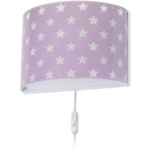 Wall lamp Stars Purple