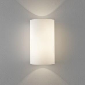 Cyl 260, 2x E27 max 46W ECO, Chrom, Glas weiß,