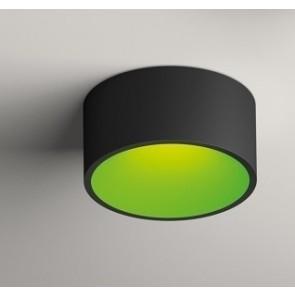 Vibia DOMO DL 8210, graphitgrau matt, innen grün matt, dimmbar