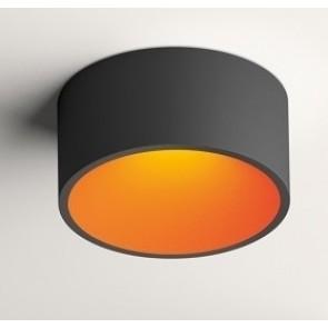 DOMO DL 8210, graphitgrau matt, innen orange matt,