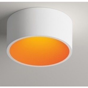 Vibia DOMO DL 8211, weiß matt, innen orange matt, dimmbar