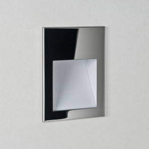 Einbau-BadBorgo 90 Breite 9 cm chrom 1-flammig rechteckig