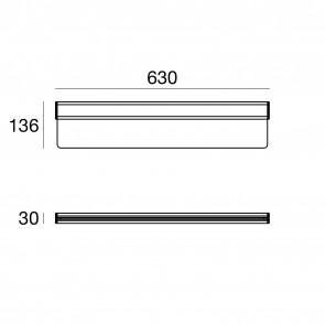 Trix-C L600 Mono 21W Grig Metal