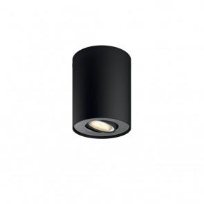 Pillar 1-er Spot, Schwarz, inkl. Dimmschalter