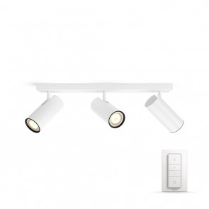 Buratto, LED, 3flg., 750lm, weiß, inkl. Dimmschalter