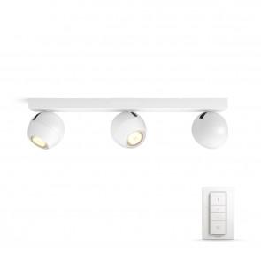 Buckram, LED, 3flg. 750lm, weiß, inkl. Dimmschalter