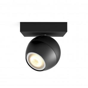 Buckram, LED, 1flg. 250lm, schwarz, Erweiterung