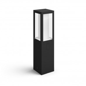 Impress Höhe 40 cm schwarz 1-flammig eckig