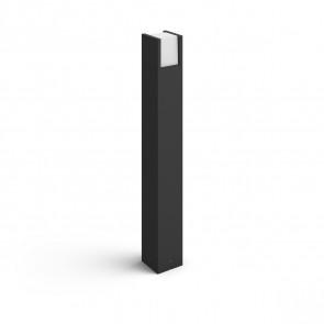 White Fuzo Ø  10,4cm schwarz 1150lm eckig