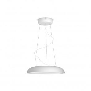 Amaze Ø 43,4 cm weiß 1-flammig rund