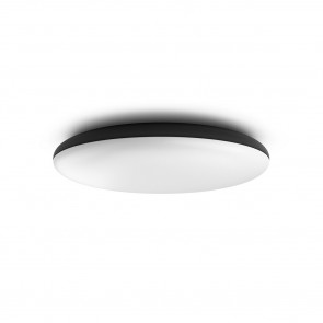 White Amb. Cher Ø 47,5cm schwarz 3000lm Dimmschalter rund