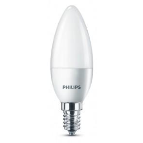 LED E14 (B35) (ersetzt 40W), 520lm, Kaltweiß 4000K, 230V, matt