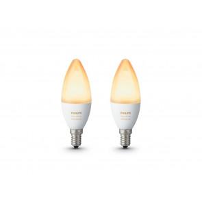 E14 Kerze White Ambiance, 2er Erweiterung, 470 lm, 2.200-6.500 K