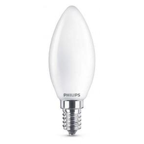LED Classic E14 (B35) 4.3W (ersetzt 40W), 470lm, warmweiß 2700K, matt