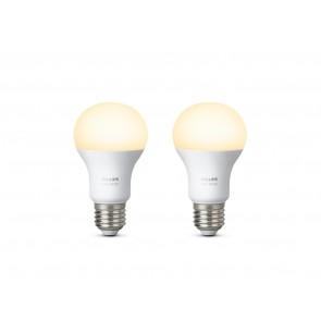 White LED E27 Doppelpack, 2x9,5W, Bridge erforderlich