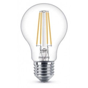 LED Classic E27, 7W (ersetzt 60W), 806lm, warmweiß, klar