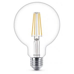 LED Classic E27 (G93) 7W (ersetzt 60W), 806lm, warmweiß 2700K, klar