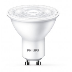 Philips LED Lampe ersetzt 50W, GU10, warmweiß (2700 Kelvin), 345 Lumen, Reflekt