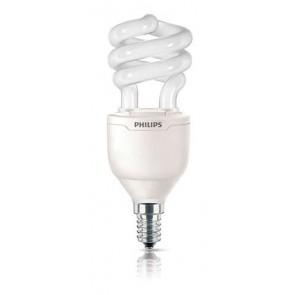 Energiesparlampe Tornado, E14, warmweiß, 8000 Std, 13W