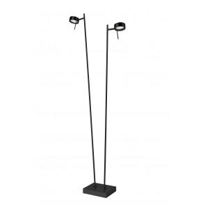 Bling 2, LED, 2-flammig, dimmbar, schwenkbar, schwarz