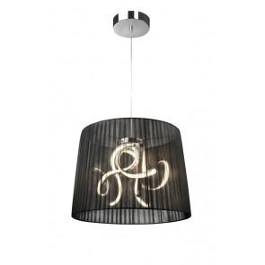 Organza LED, Höhe 150 cm, Ø 50 cm