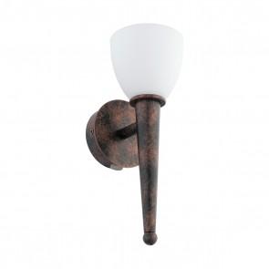 Mara 2, LED, G9, kupfer-antik/weiß