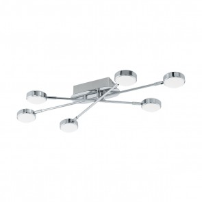 LED-DL-6 CHROM-SATINIERT SALTO 2