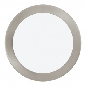 Fueva 1, LED, Ø 22,5cm, nickel-matt