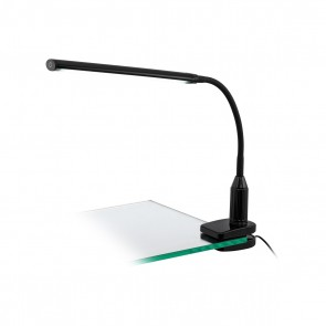 Laroa, LED, schwarz, mit Touchdimmer