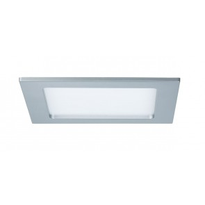 Quality EBL Set Panel eckig LED 1x12W 4000K 230V 165x165mm Chr m/Kunststoff