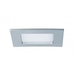 Einbaupanel, LED, IP44, 6W, eckig, chrom