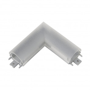 Alu 90 Grad Connector Länge 6 cm metallisch eckig
