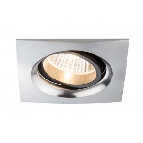 2er-Set Premium Line Daz LED, alu, gebürstet, Alu, quadratisch, 7 W
