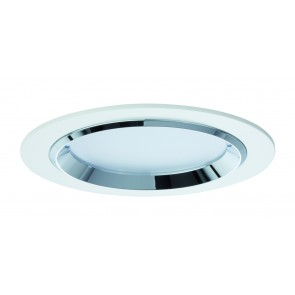 Premium EBL Set Dot rund LED 3x8W 36VA 230V/700mA 150mm Weiß/Chrom Alu