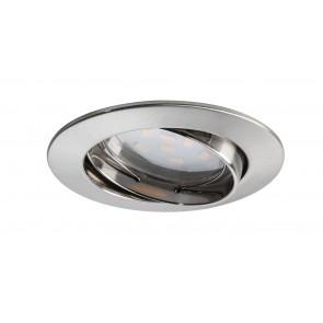 Coin klar rund schwenkbar LED 3x6,8W 2700K 230V Eisen