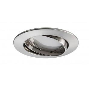 Coin satiniert rund schwenkbar LED 3x6,8W 2700K 230V Eisen