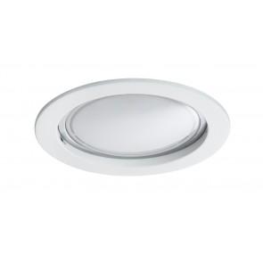 Coin satiniert rund starr LED 1x14W 2700K 230V Weiß