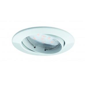 Coin klar rund schwenkbar LED 1x6,8W 2700K 230V Weiß