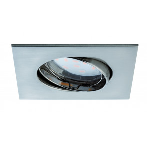Coin klar eckig schwenkbar LED 1x6,8W 2700K 230V Eisen