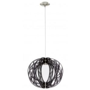 Forca Ø 40 cm schwarz 1-flammig kugelförmig