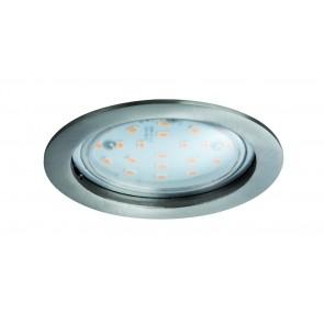 Coin klar rund starr LED 1x14W 2700K 230V Eisen